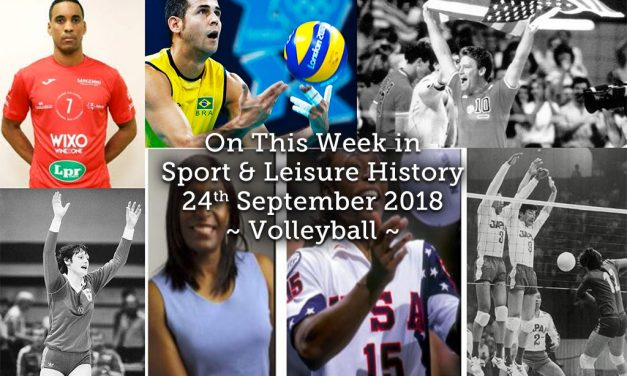 On This Week in Sport History ~ Volleyball