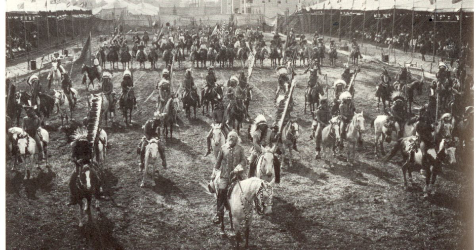 The Buffalo Bill Procession