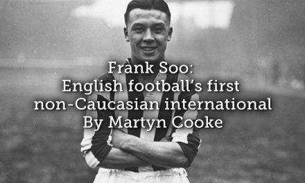 Frank Soo: English football's first non-Caucasian international