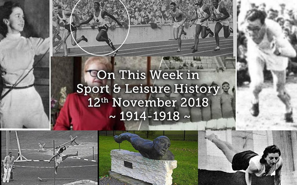 On This Week in Sport History ~ 1914-1918 ~