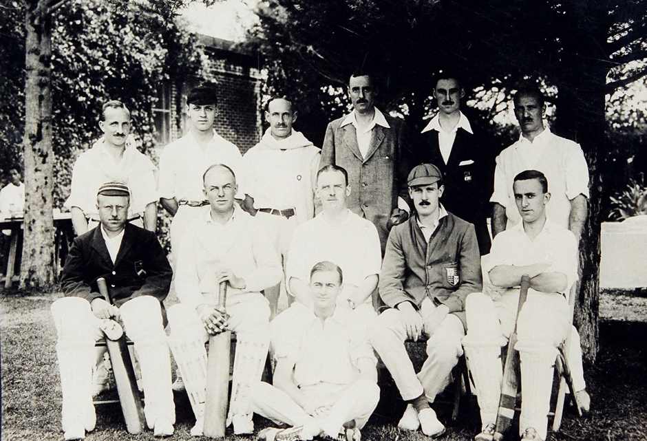 Cricketers of The Reforma Athletic Club. Source- The Reforma Athletic Club