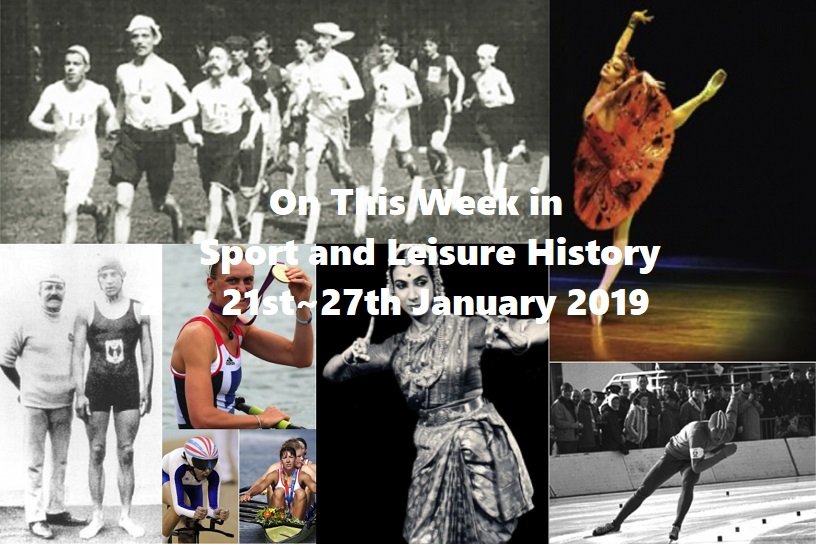 On This Week in Sport & Leisure History ~ 21st January 2019