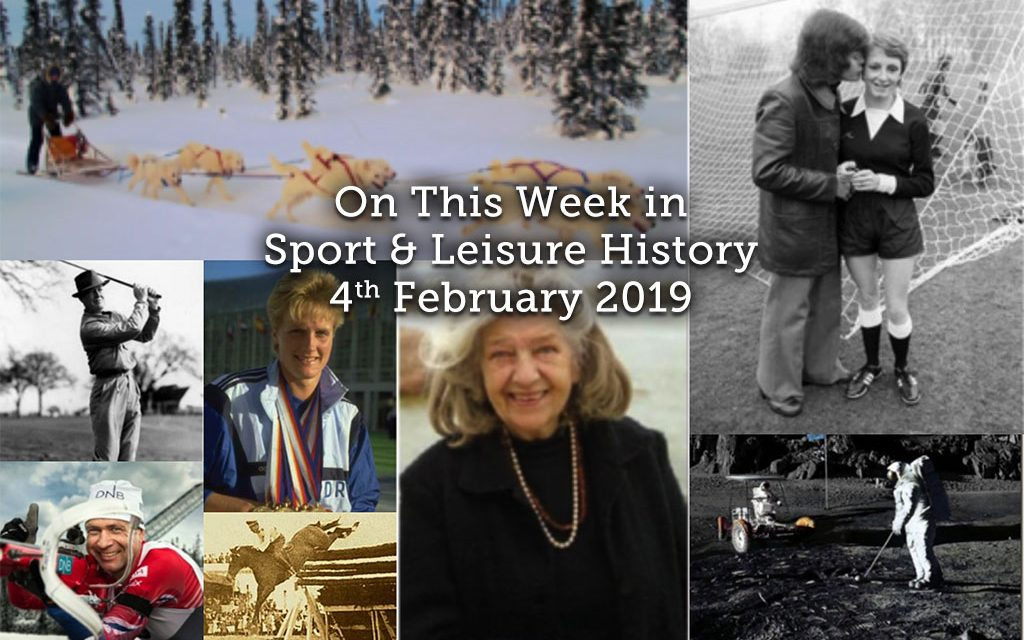 On This Week in Sport & Leisure History ~ 4-10th  February 2019