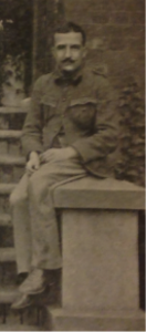 Wilberforce Vaughan Eaves on his return from service in the Boer War