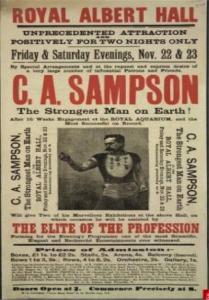 Sandow Sampson and Stardom