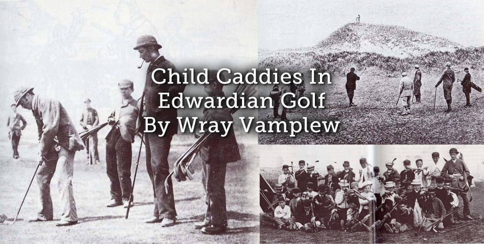 Child Caddies In Edwardian Golf