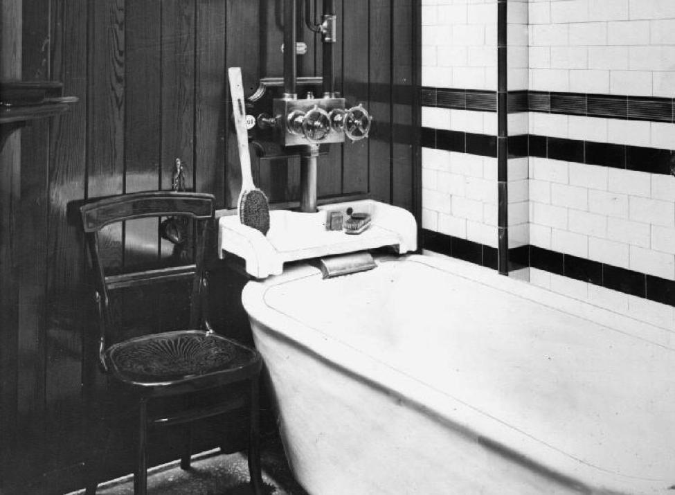 A warm bath at Leaf Street baths