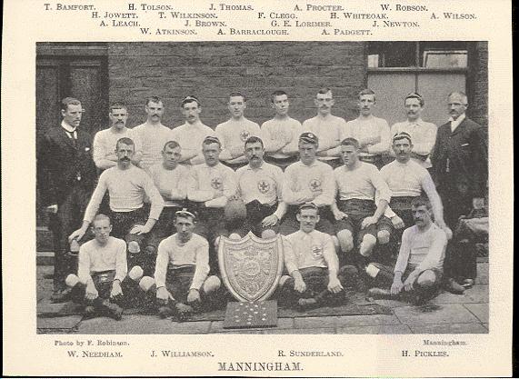 Manningham NU Champions 1895-96