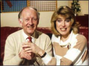 BBC Breakfast Time's Frank Bough and Selina Scott
