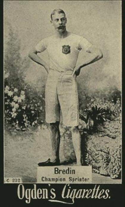 Bredin in Ogden's Cigarette Card Series