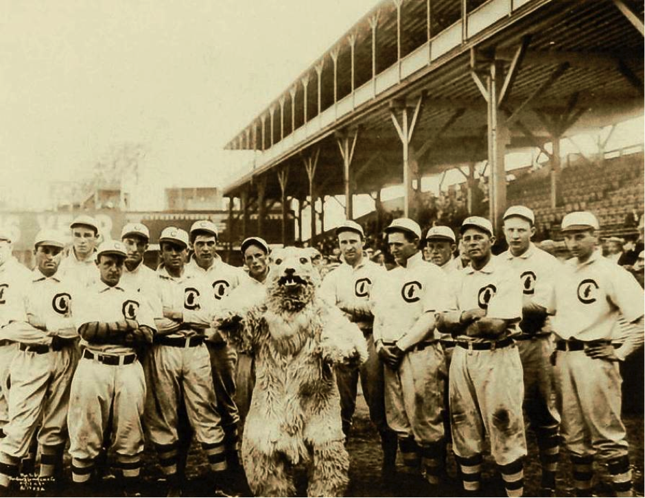 Chicago Cubs Team 1908