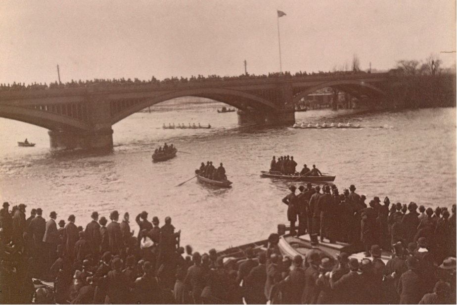 Oxford and Cambridge Boat Race, 1886. © River & Rowing Museum
