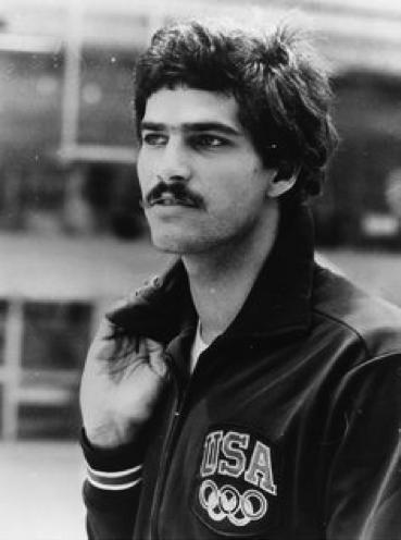 The famous moustache