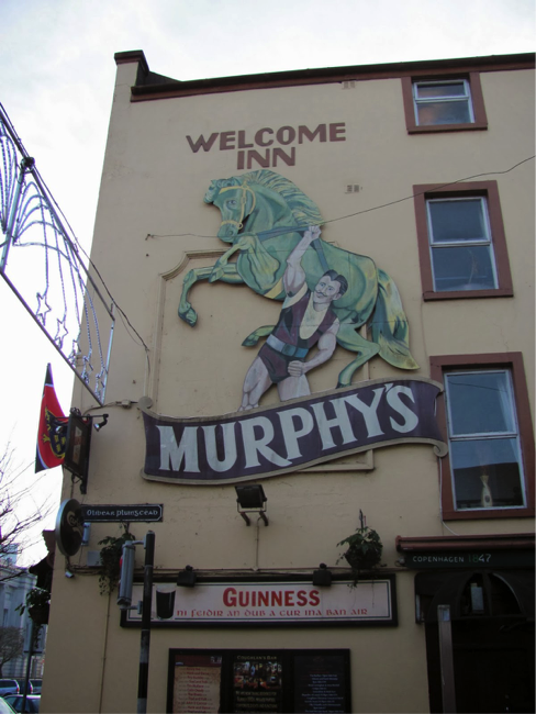 'Photograph of Corkconian Pub'. Taken by author October 2016