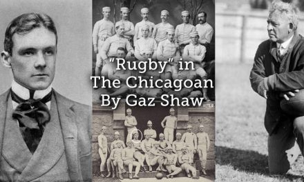 """Rugby"" in The Chicagoan"