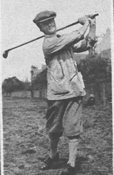Amateur Golf champion W I Hunter
