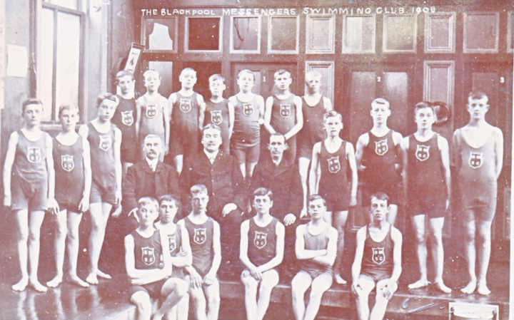 Blackpool Messenger Boys Swimming Club 1908