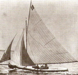 Linton Hope & his 0.5-1 Ton Olympic Yacht