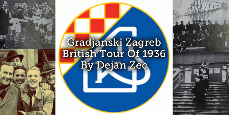 Gradjanski Zagreb British Tour Of 1936