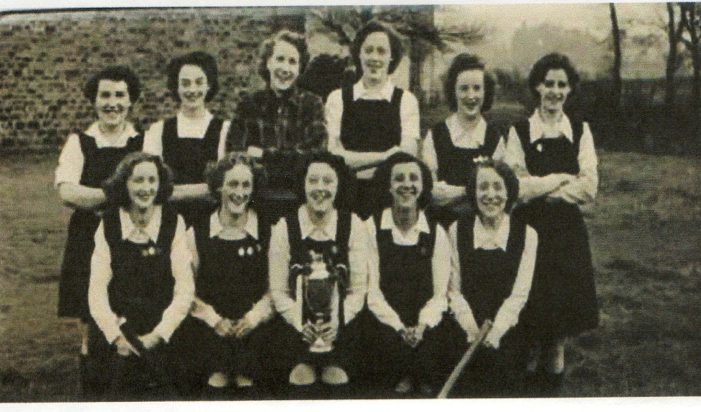 Newhey Ladies Hockey Club won the English Cup in 1951