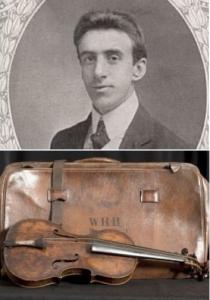 Wallace Henry Hartley & his Violin