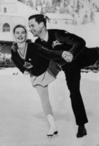 Barbara Ann Scott& Hans Gerschwiler