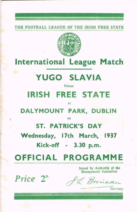 Official Match Programme