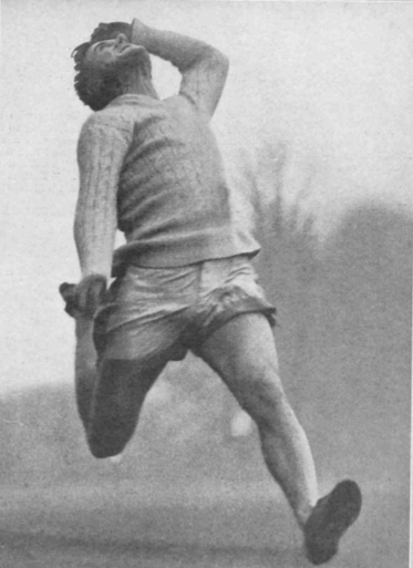 Figure 1. The winner of the long jump in the inter-college competition at Cambridge: R.W. Revans who cleared 21ft 9in for Emmanuel. Illustrated Sporting and Dramatic News, Saturday 15 February 1930, 5.