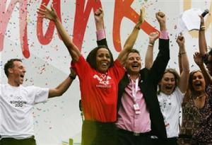Celebrations as London wins 2012 Olympic Bid
