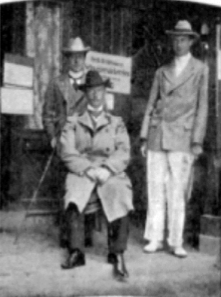 Charles Adolph Voigt with the Doherty brothers