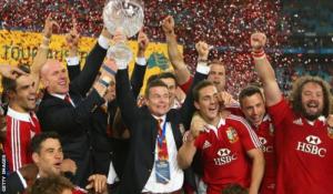 and British Lions beat Australia