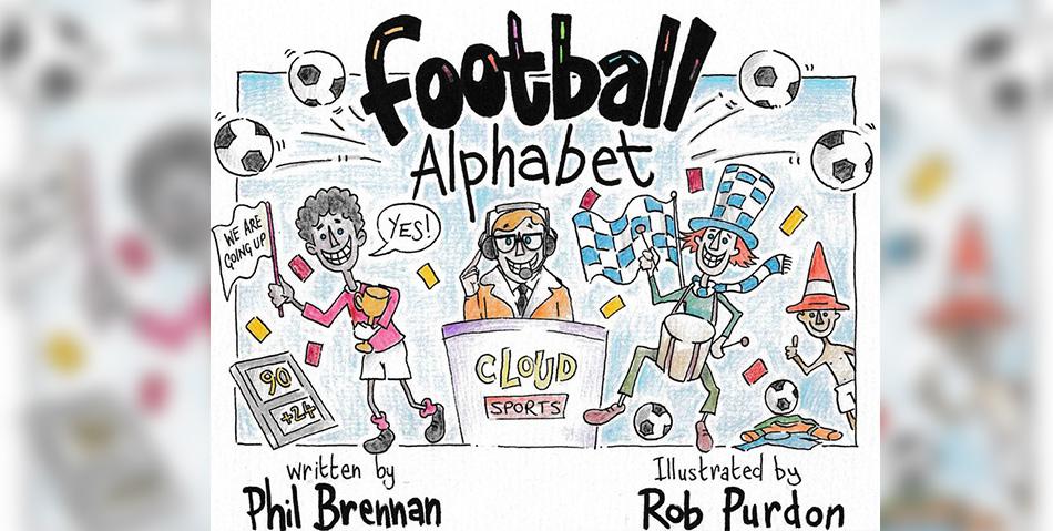 Football Alphabet by Phil Brennan
