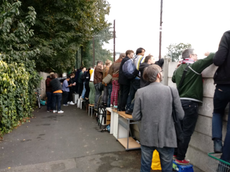 Attendance of Clapton Ultra's fans