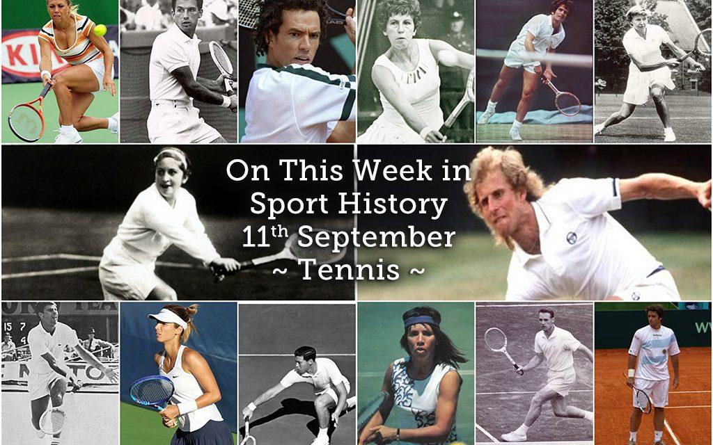 On This Week in Sport History – Tennis