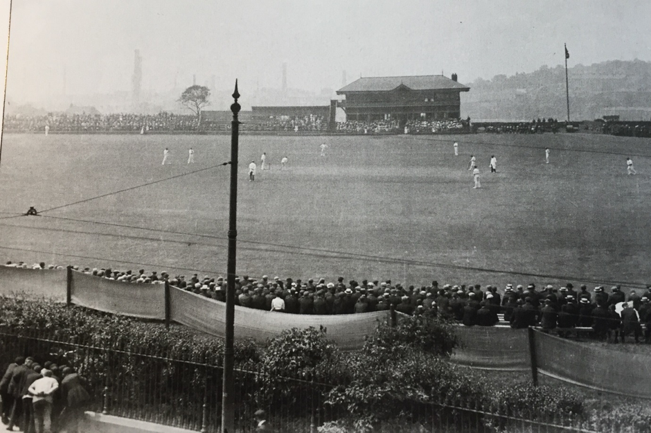 County cricket at Dewsbury in the early 20th century