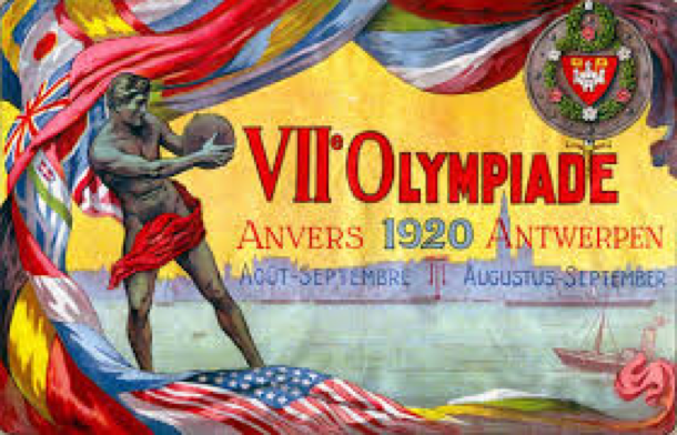Poster for the Antwerp Games