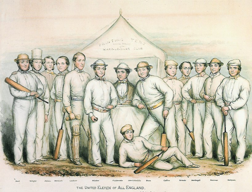 The United England Eleven in the 1850s