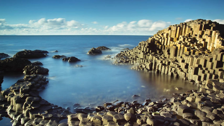 The Giant's Causeway Courtesy of Fionn McCool