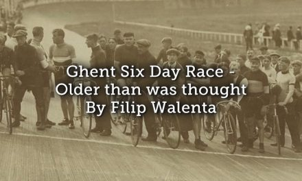 Ghent Six Day Race – much older than was thought