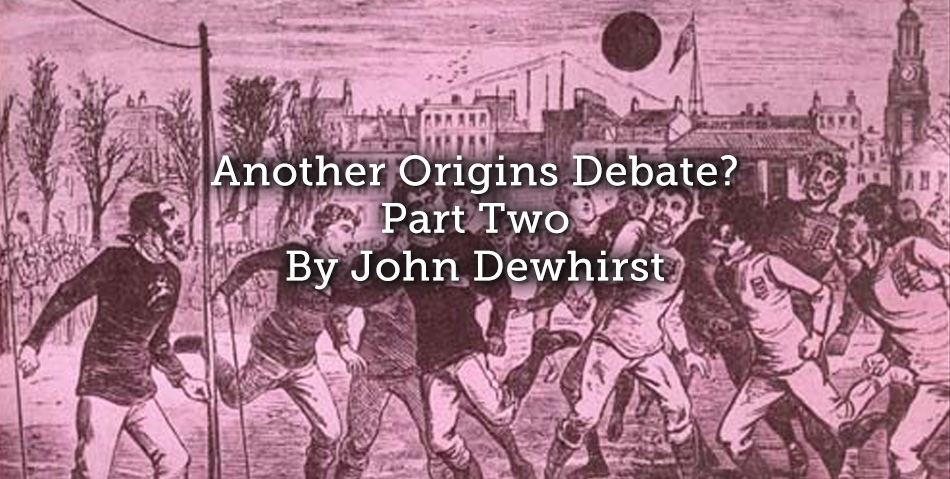 Another Origins Debate? Part Two