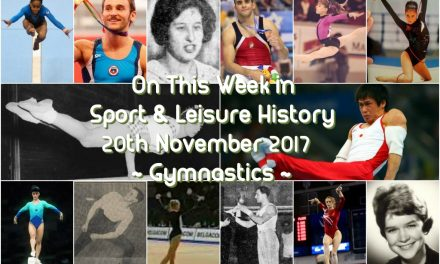 On This Week in Sport History ~ Gymnastics