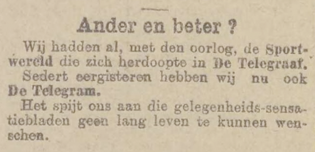 Vooruit, 6 October 1914