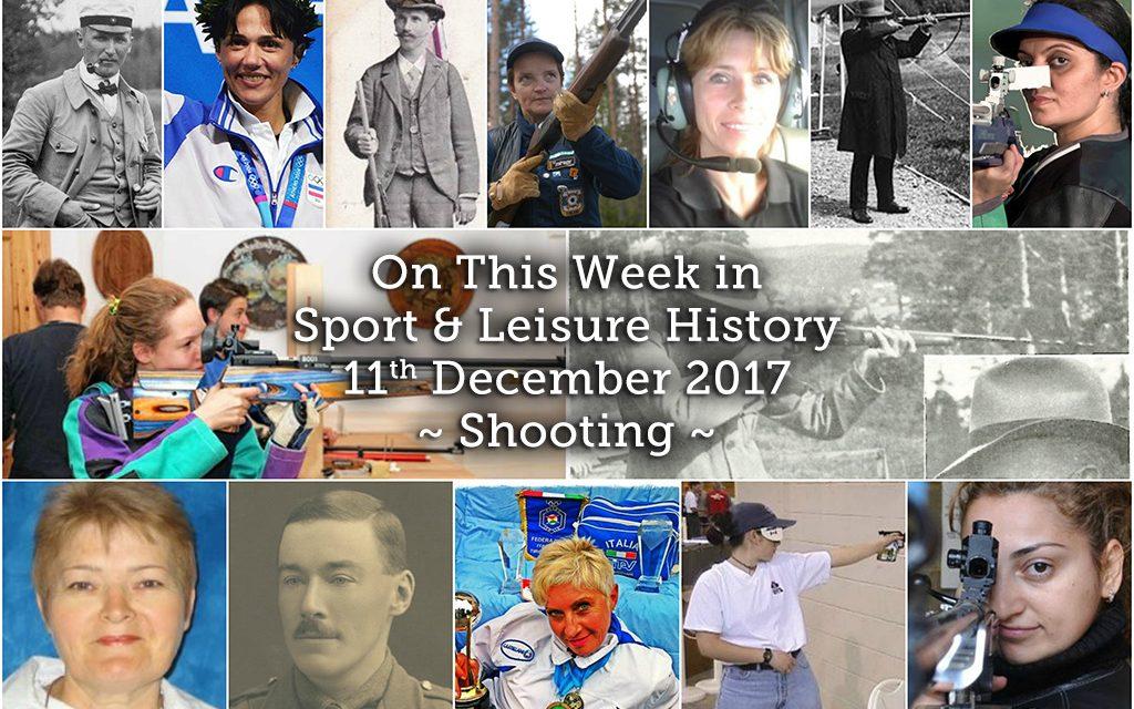 On this Week in Sport & Leisure History ~ Shooting