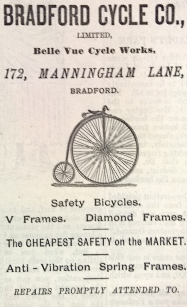 Cycle advert