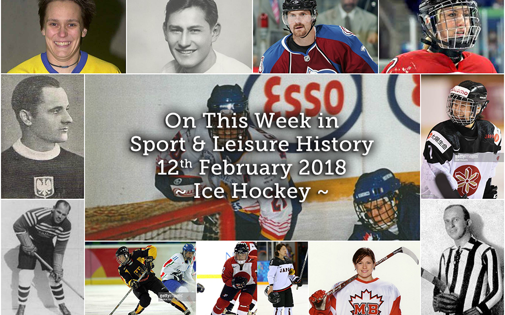 On This Week in Sport and Leisure History ~ Ice Hockey