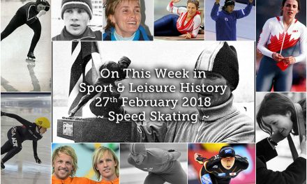 On This Week in Sport & Leisure History ~Speed Skating