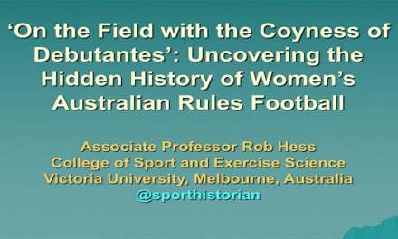 'On the Field with the Coyness of Debutantes': Uncovering the Hidden History of Female Footballers'