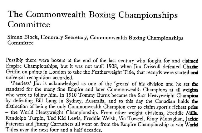 BBY-1985-Intro-commonwealth, this was the situation in 1985, i.e. first BE:Commonwealth title started in 1908