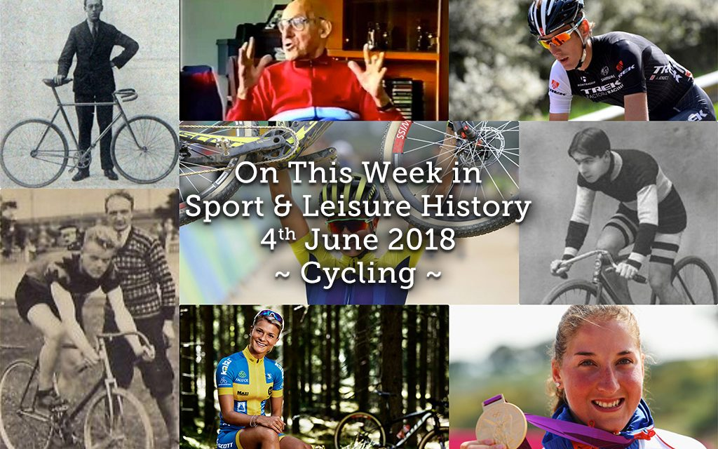 On This Week in Sport and Leisure History ~ Cycling ~