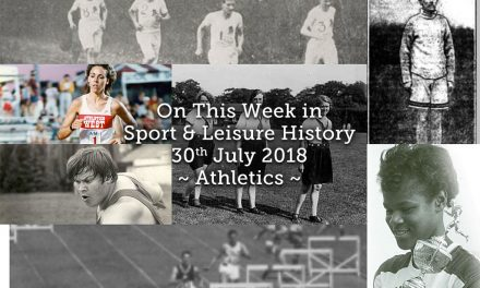 On This Week in Sport History ~ Athletics